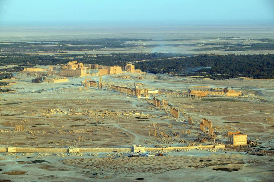 La antigua ciudad de Palmira ha sufrido ataques terroristas por parte de Estado Islámico.