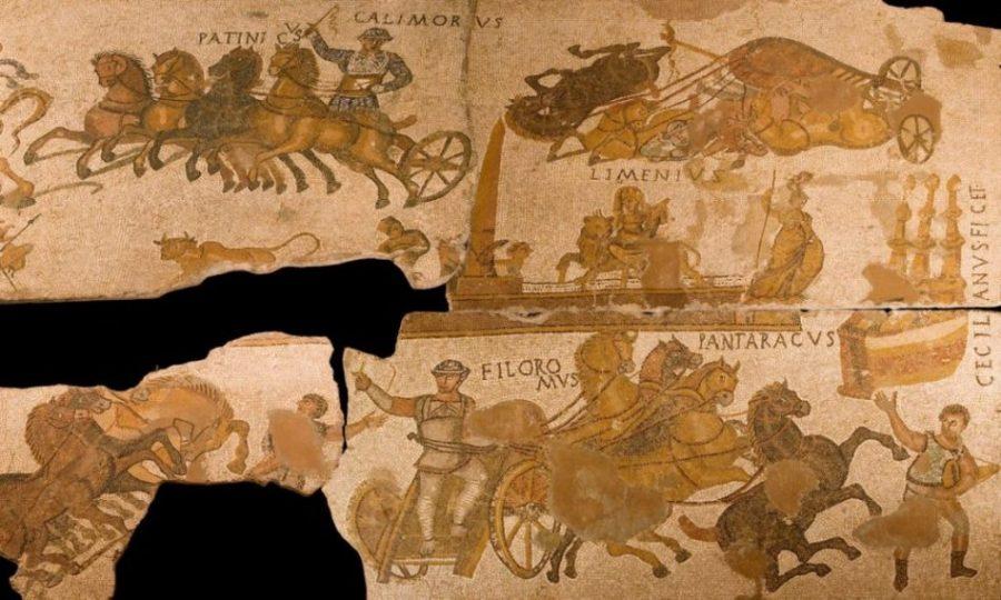 El mosaico de Can Pau Birol: una fotografía de hace 1.700 años (Gerona)