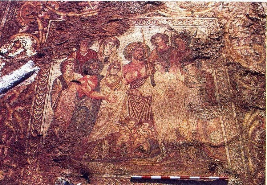 Los extraordinarios mosaicos de La Malena, abandonados a su suerte