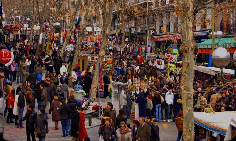 El Rastro: donde todo se vende y se compra desde la Edad Media