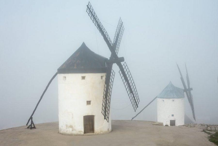 Consuegra: ¿los molinos de viento que inspiraron a Cervantes? (Toledo)