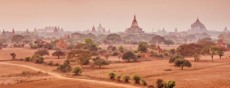 Las pagodas de Bagan: la que fue capital del Imperio birmano
