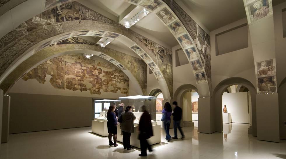 El expolio de los frescos románicos de Villanueva de Sigena