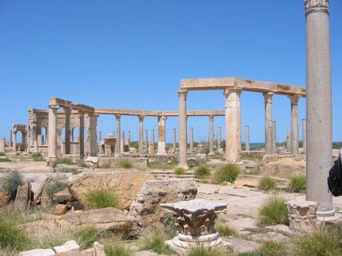 Leptis Magna market place Robert Bamler compressor e1504003669795 - Leptis Magna: Roma en África