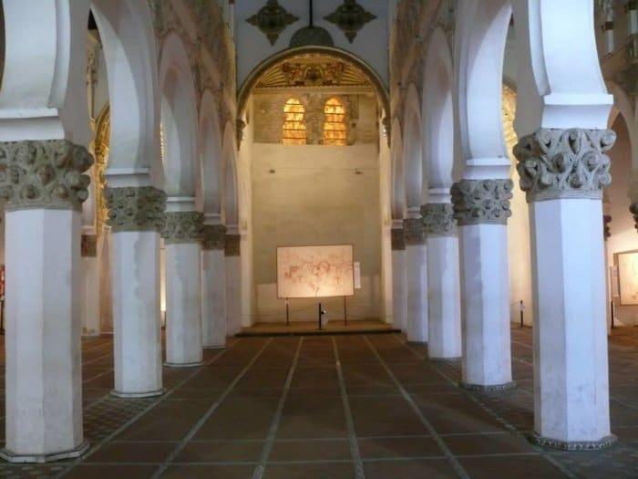 Sinagoga santa maria la blanca toledo e1504122714459 - El legado de Sefarad en la Península