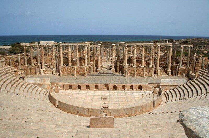 Leptis Magna: Roma en África