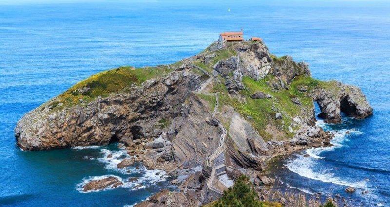 San Juan de Gaztelugatxe, la Rocadragón de 'Juego de Tronos'