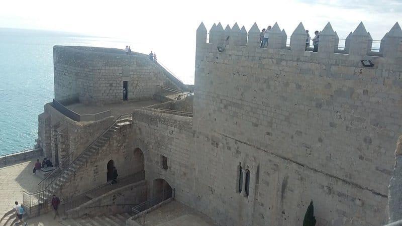 Castillo templario de Peñíscola y el Papa Luna