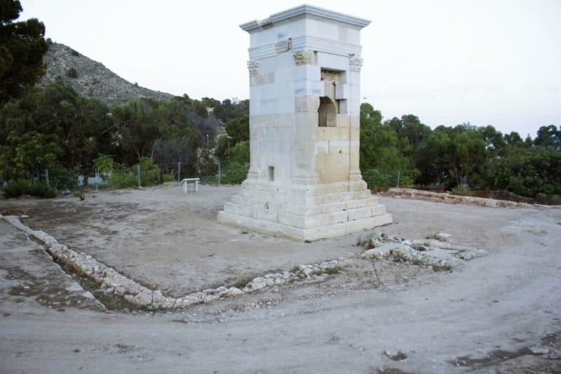 Torre de Sant Josep: un mausoleo romano de altura