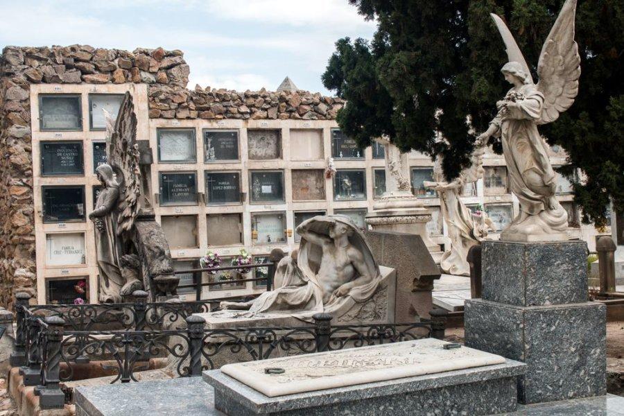 El elegante cementerio de Montjuïc